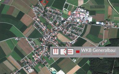 VERKAUFT: Neubau eines Einfamilienhauses mit Doppelgarage in Forstinning