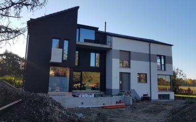 Neubau eines Zweifamilienhauses in München