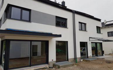 Neubau eines Doppelhauses in Vaterstetten/Baldham – VERKAUFT